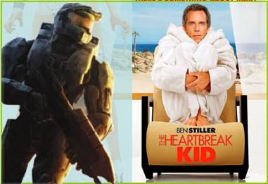 Halo 3 v The Heartbreak Kid