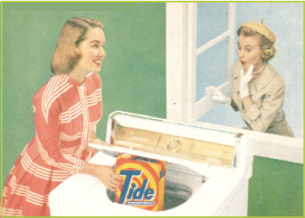 image of women using tide for their laundry, borrowed from francisanderson.wordpress.com