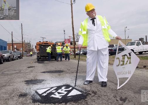 kfc-pothole