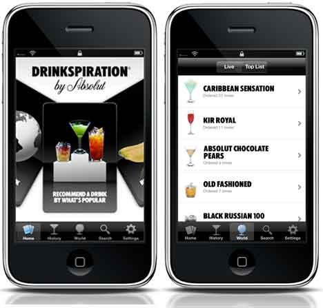 absolut drinkspiration