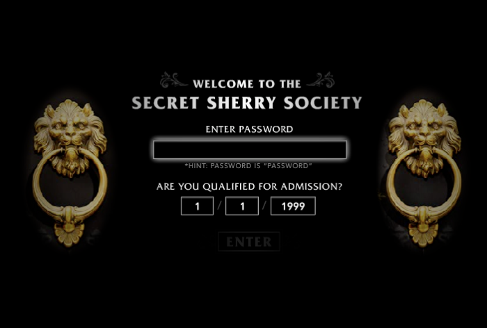 secret sherry society