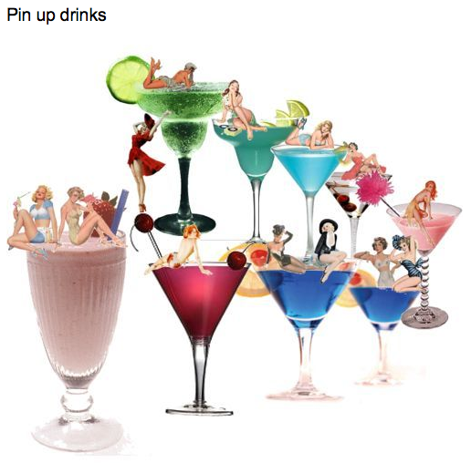 pin up drinks