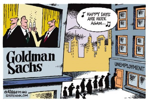 goldman sachs saved by public funds