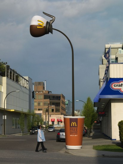 mcdonalds coffee ambient