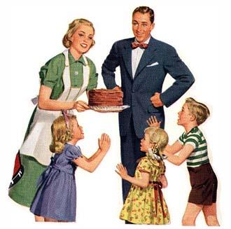 1950 american family